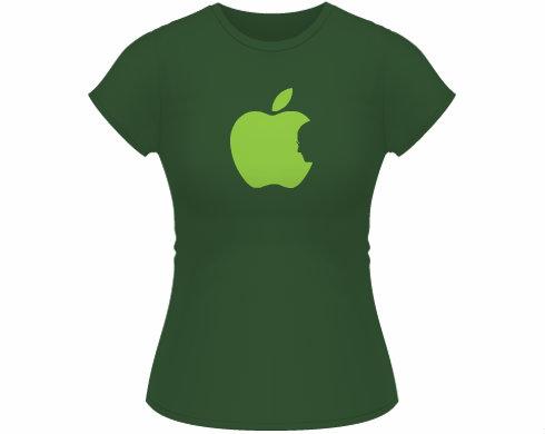 Dámské tričko Classic Apple Jobs