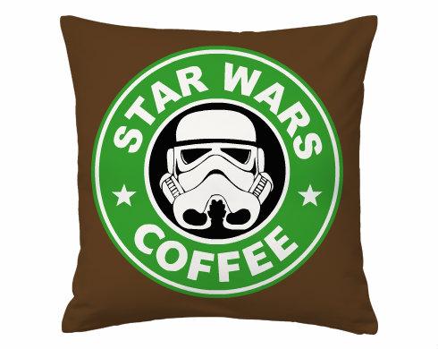 Polštář MAX Starwars coffee