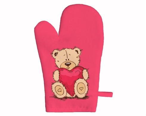 Chňapka Medvídek srdce
