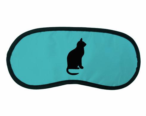 Maska na spaní - škraboška Kočka - Shean
