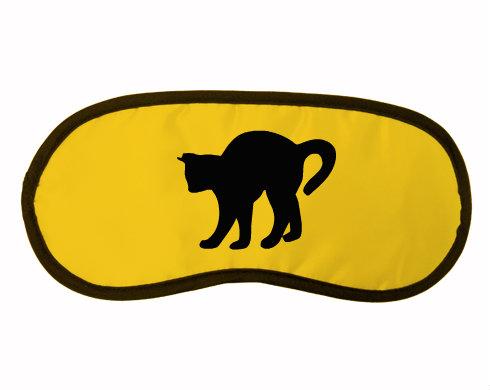 Maska na spaní - škraboška Kočka - Čiko