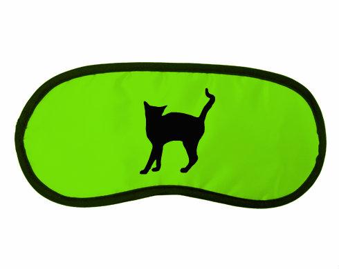 Maska na spaní - škraboška Kočka - Líza