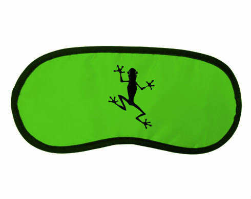 Maska na spaní - škraboška Žába