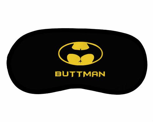 Maska na spaní - škraboška Buttman