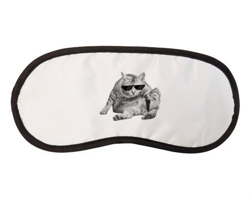 Maska na spaní - škraboška Drsná kočka