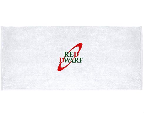 Celopotištěný ručník Červený trpaslík