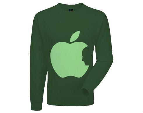 Pánská mikina bez kapuce Apple Jobs