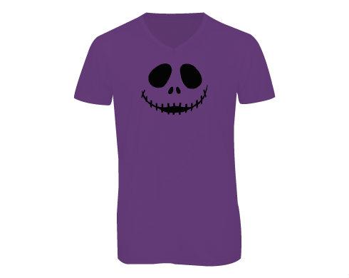 Pánské triko s výstřihem do V Burton Skull