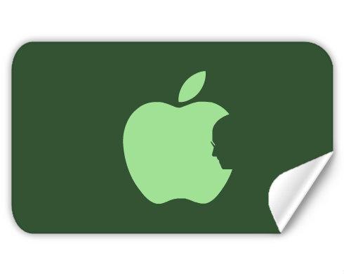 Samolepky obdelník - 5 kusů Apple Jobs