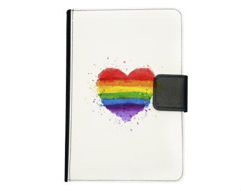 Smart obal na tablet Rainbow heart