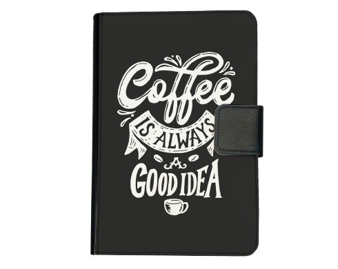 Smart obal na tablet Coffee is always a good idea