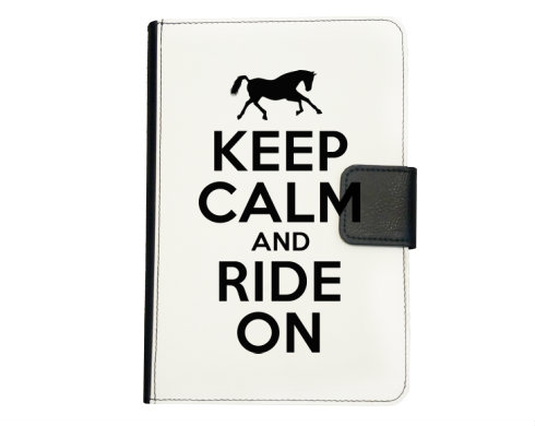 Smart obal na tablet Keep calm and ride on
