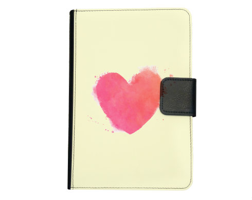 Smart obal na tablet watercolor heart