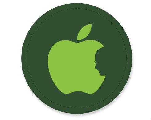 Placka magnet Apple Jobs