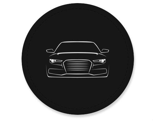 Placka magnet Silueta auta