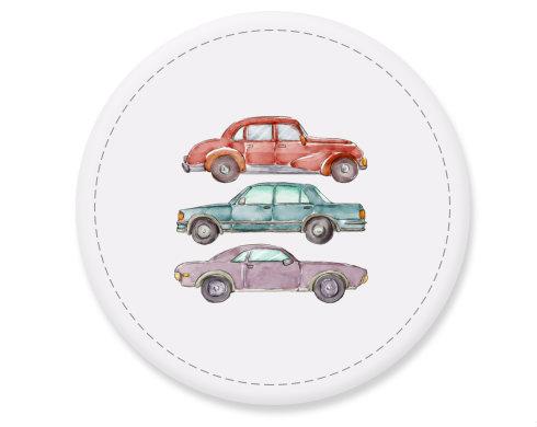 Placka magnet Akvarelová auta