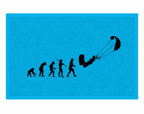 Rohožka Kiteboarding evoluce