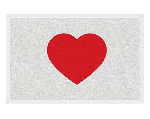 Rohožka Jednoduché srdce