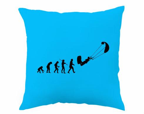 Polštář Kiteboarding evoluce