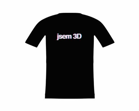 Dětské tričko JSEM 3D