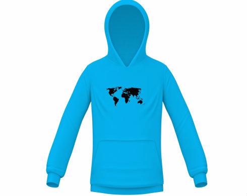 Dětská mikina Mapa světa