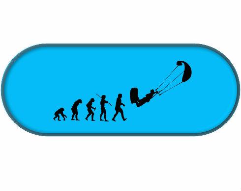 Penál Kiteboarding evoluce