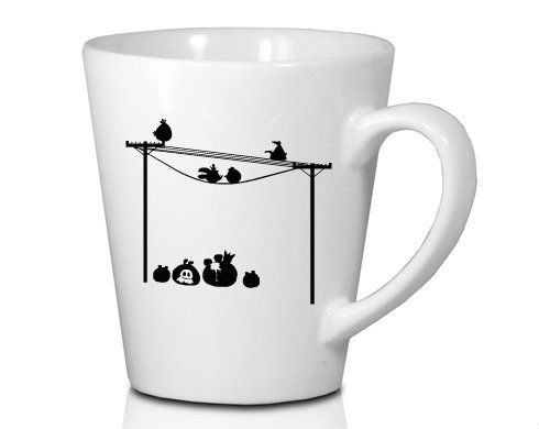 Hrnek Latte 325ml Angry birds