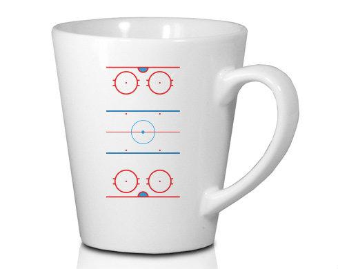 Hrnek Latte 325ml Hokejové hřiště