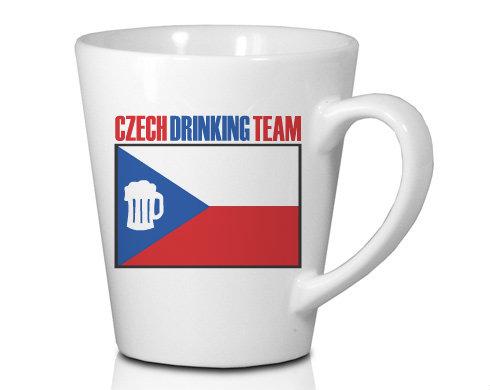 Hrnek Latte 325ml Czech drinking team