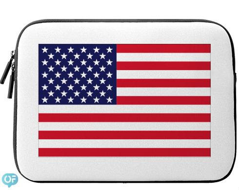 Neoprenový obal na notebook USA