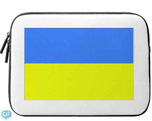 Neoprenový obal na notebook Ukrajina