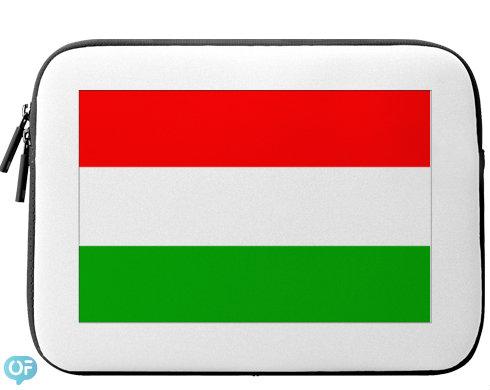 Neoprenový obal na notebook Maďarsko