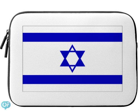 Neoprenový obal na notebook Izrael