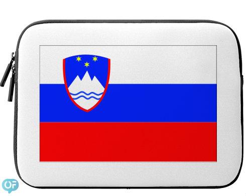 Neoprenový obal na notebook Slovinsko