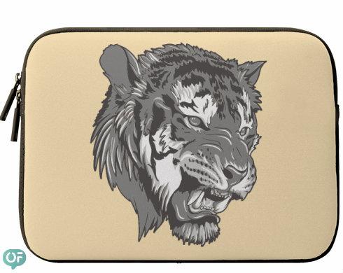 Neoprenový obal na notebook Tygr