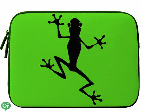 Neoprenový obal na notebook Žába