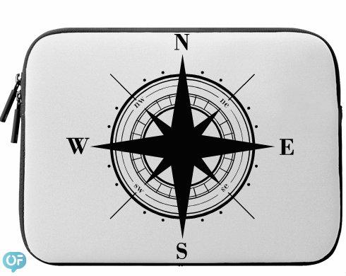 Neoprenový obal na notebook Kompas