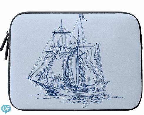 Neoprenový obal na notebook plachetnice