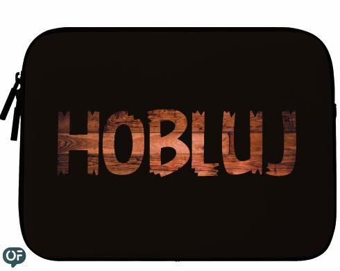 Neoprenový obal na notebook Hobluj