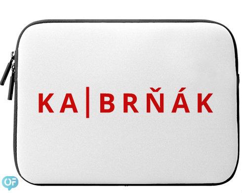 Neoprenový obal na notebook Kabrňák