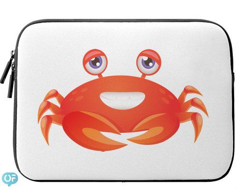 Neoprenový obal na notebook Krab