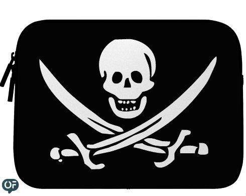Neoprenový obal na notebook Pirát