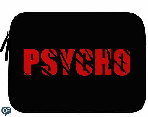 Neoprenový obal na notebook Psycho