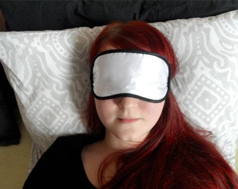 Maska na spaní - škraboška