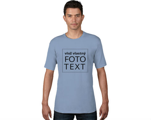 3df7f988e081 Pánske bio tričko - Vytvor si vlastné tričko