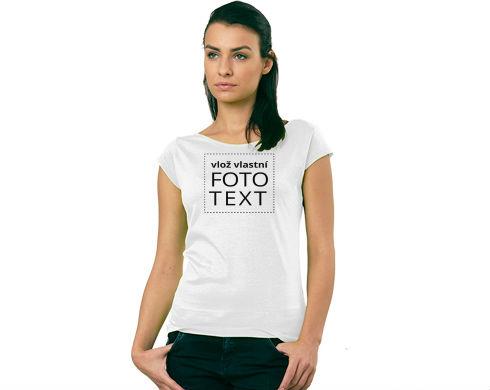 Dámské tričko Elegance s vlastním potiskem 1d08a6b6d6