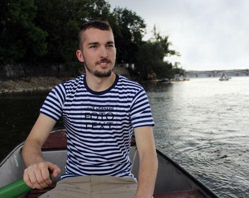 Námořnické tričko pánské s vlastním potiskem 9b961f4a93