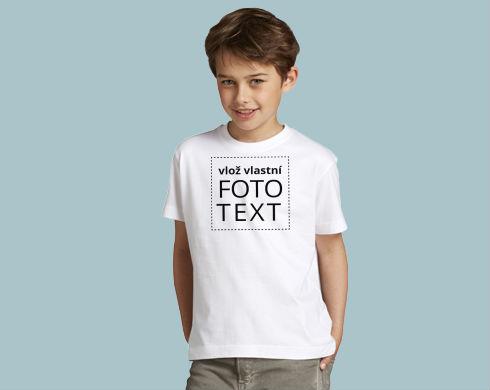 5bfc5a341fa Dětské tričko s vlastním potiskem