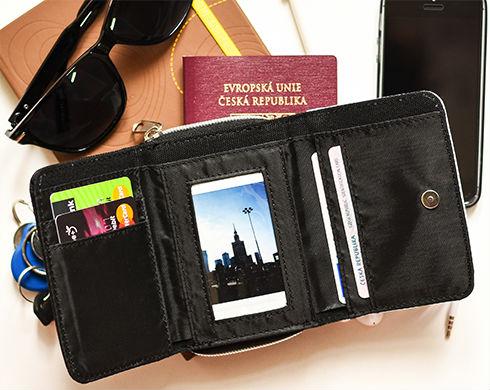 3cf1a91d456 Peněženka s vlastním potiskem