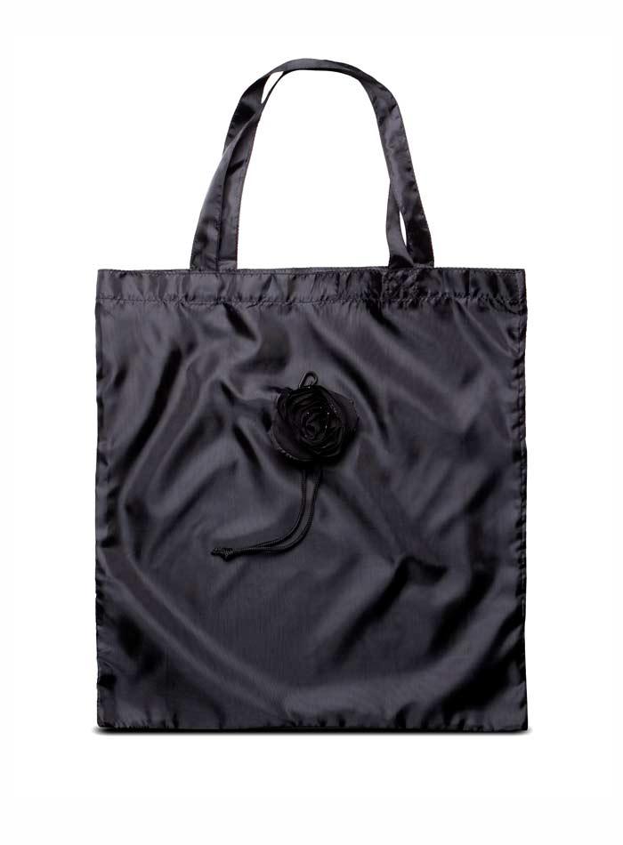 Skládací nákupní taška - Černá univerzal